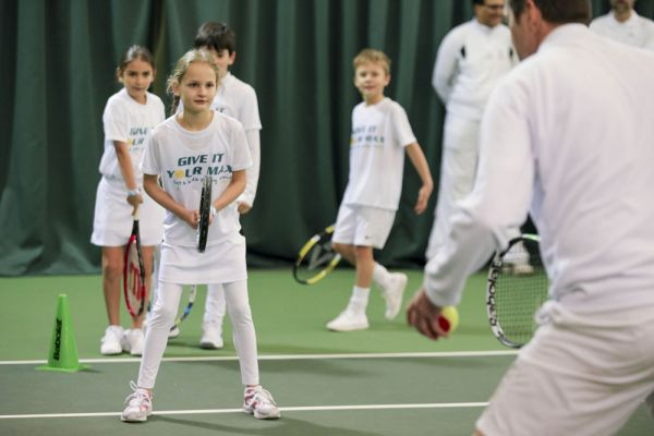 GIYM Junior Clinic at Wimbledon February 2017