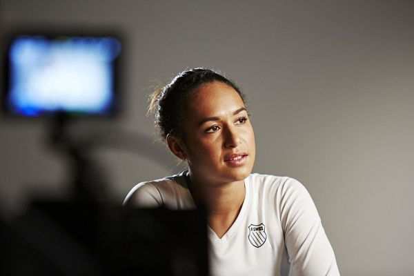 Behind the Scenes with Heather Watson
