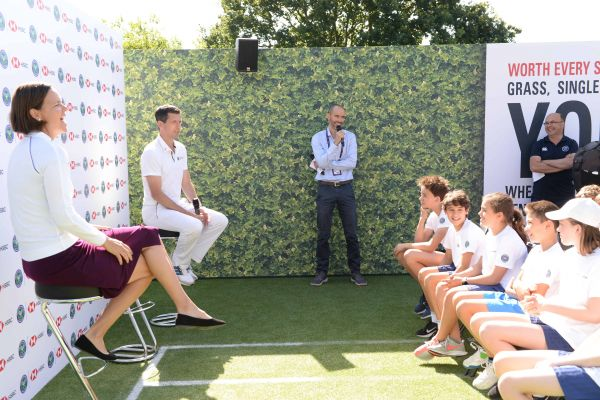 HSBC Media Event, The Championships, Wimbledon - July 2019