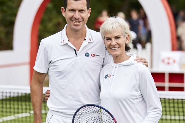 HSBC Coaching Clinic at The Championships, Wimbledon - July 2018