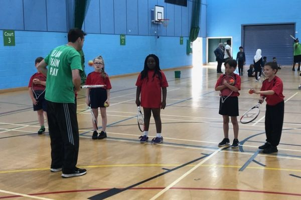 Barnet & Middlesex Inclusive Tennis Event - July 2019